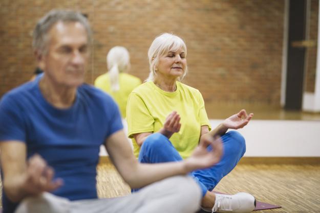 Meditação na Terceira Idade
